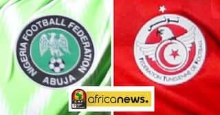 AFCON 2019 Nigeria vs Tunisia in Egypt. PHOTO | BANA