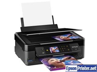 Reset Epson XP-411 printing device by program