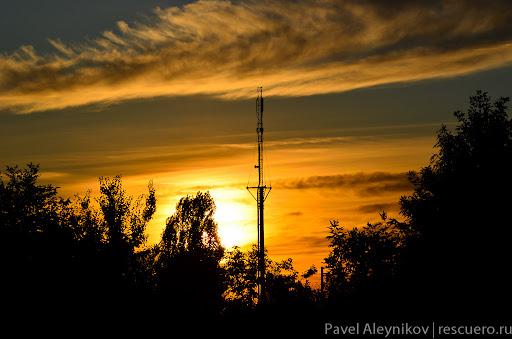 Рассвет в Торезе