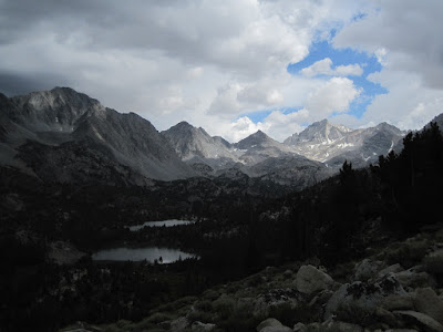 Little Lakes Valley, before the storm   ©http://backpackthesierra.com