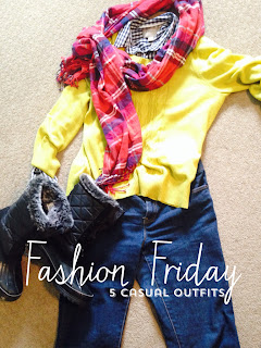 Fashion Friday 5 casual outfits, The Style Sisters
