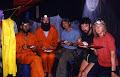 Dinner time at Leopard camp