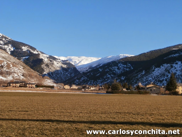 Vista del Puigmal por la tarde
