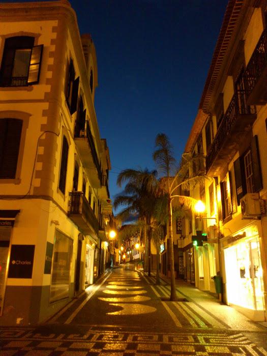 Rua dos Ferreiros at night