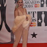 OIC - ENTSIMAGES.COM - Anne-Marie at the  The BRIT Awards 2016 (BRITs) in London 24th February 2016.  Raymond Weil's  Official Watch and  Timing Partner for the BRIT Awards. Photo Mobis Photos/OIC 0203 174 1069