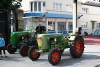 MVCL Sonntagstreff Besuch Traktoren aus Balzers