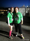 Julie and I before the race started.