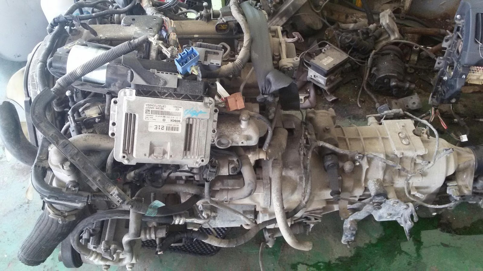 Grand Starex D4cb Engine Used Korea Car Auto Parts