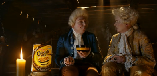 The Revolutionary Chocolatier Advert via Leo Burnett for Kellogg's Crunchy Nut Chocolate