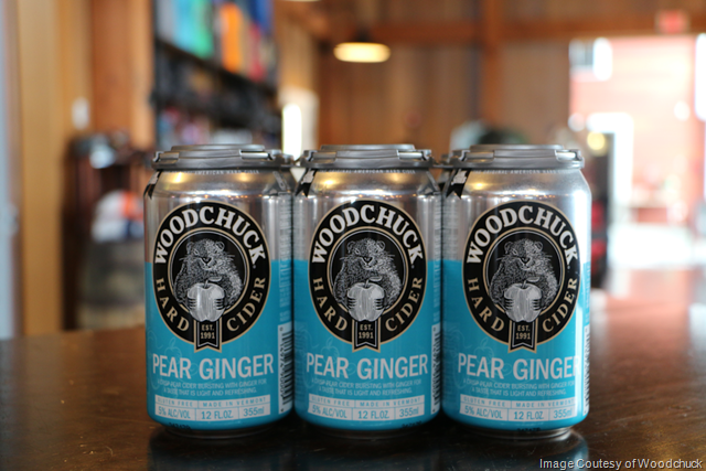 Woodchuck® Hard Cider Launches Tank Series with Pear Ginger