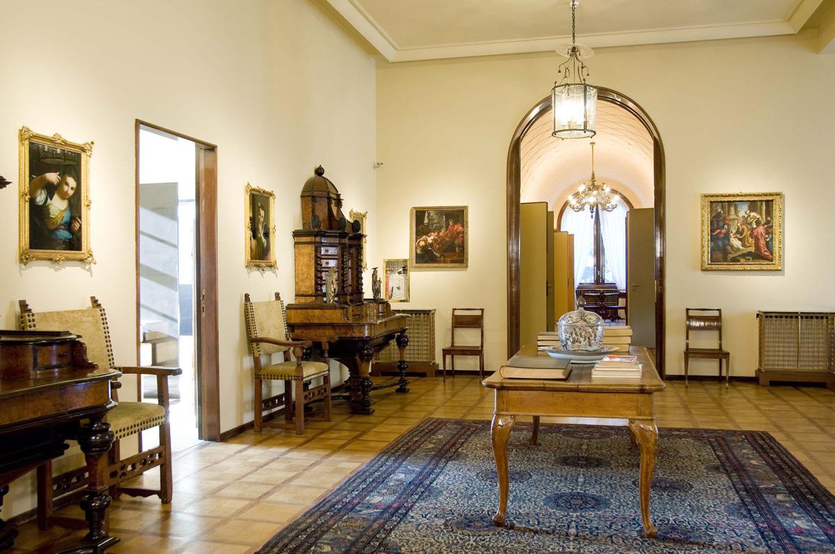 Villa necchi campiglio milano 1935 the artichoke for Villa necchi campiglio milano