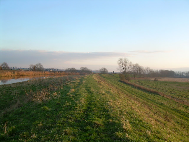 South bank of the River Lark