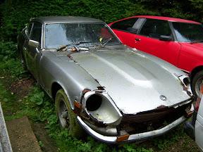 Abandoned Datsun 240Z