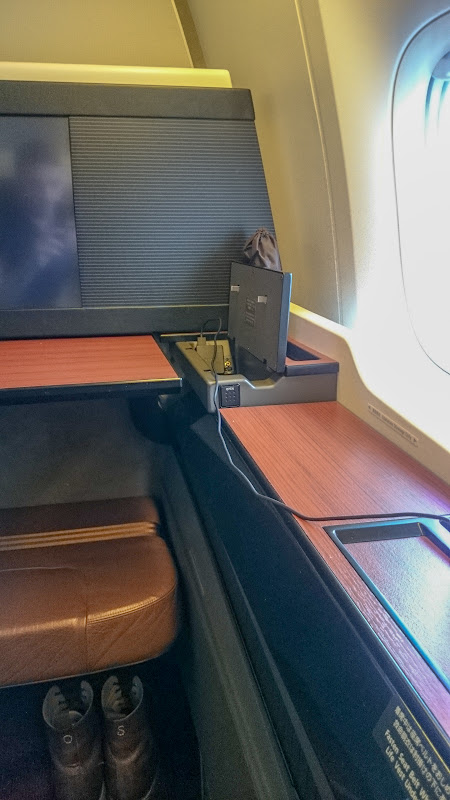 JL%252520LAX NRT 35 - REVIEW - JAL : First Class- Los Angeles to Tokyo Narita (B77W)