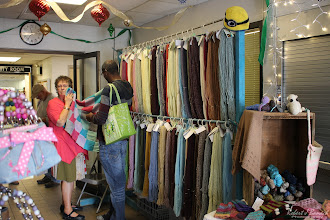 Photo: Customers checking out the Delmarva Wool & Fiber Expo 2015 (Fall) | Photograph Copyright Robert J Banach #oceancitycool