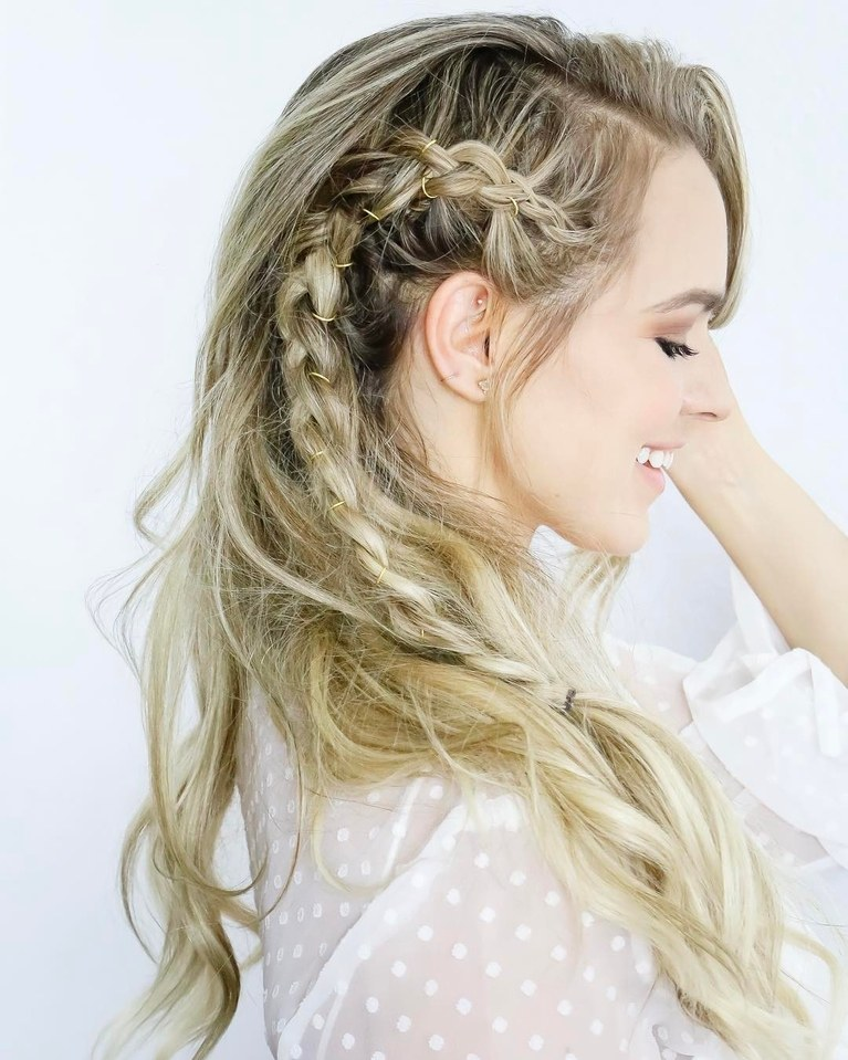 ATTRACTIVE LADY BRAIDED HAIRSTYLES IN 2018 1
