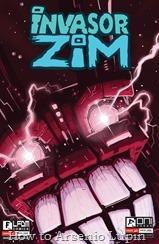 Invader Zim 003-000 (Jhonen Vasquez variant)