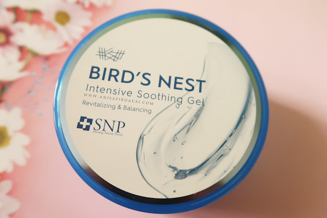 Review SNP Bird's Nest Intensive Soothing Gel