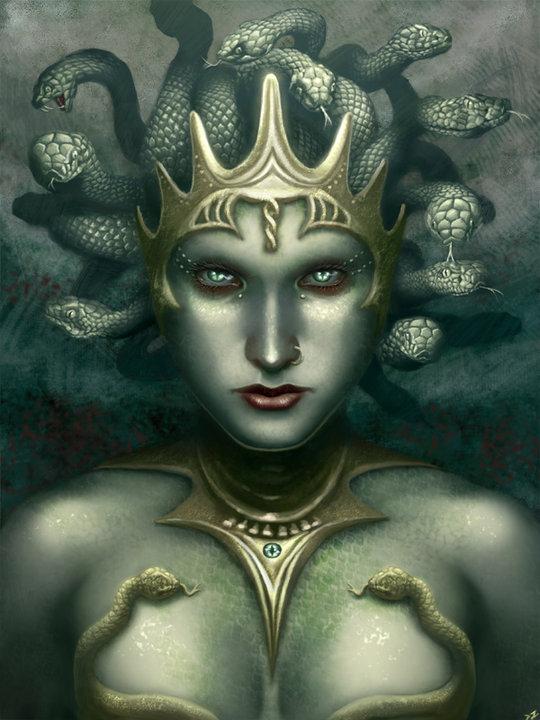 Dark Medusa, Night Magic