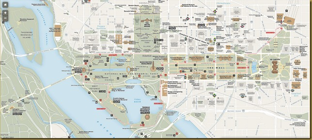 National Mall Map-1