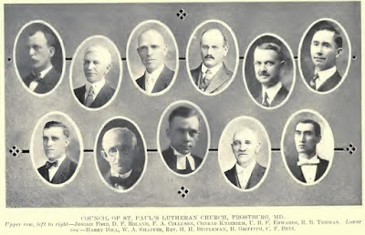 St. Paul's Frostburg Council 1919