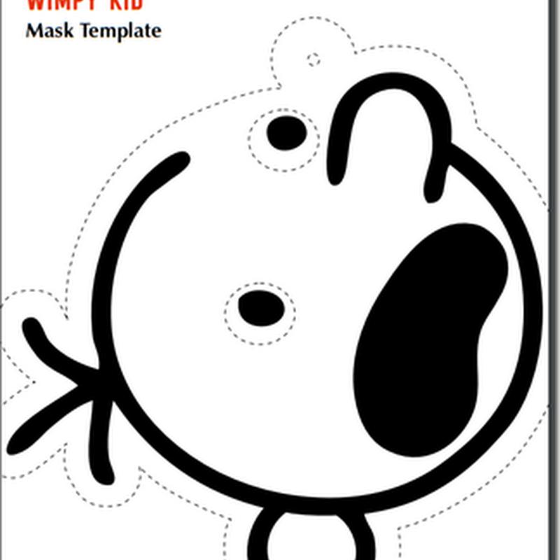 Máscara El diario de Greg