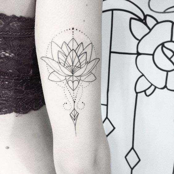 55 Coolest Lotus Tattoos And Ideas With Meanings