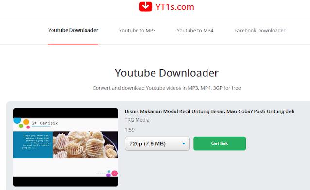 menggunakan layanan dari yt1s.com caranya sangat mudah