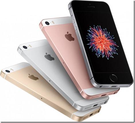 iPhone SE dengan Layar 4 Inci Resmi Diluncurkan Apple