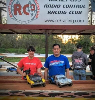 4WD SCT - 1st: Terry Pe, 2nd: Jeff Nguyen, 3rd: Jack Aslan