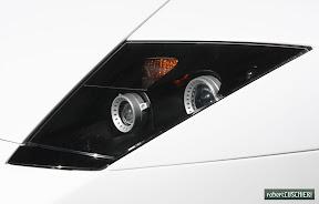 Lamborghini Murcielago Headlight Detail