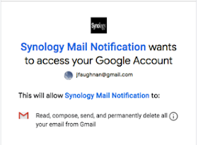Synologygmail