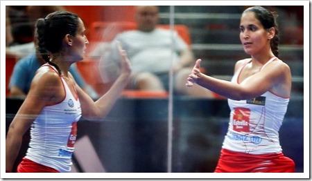 Mapi y Majo Sánchez Alayeto Campeonas en el Estrella Damm Valencia Master 2018