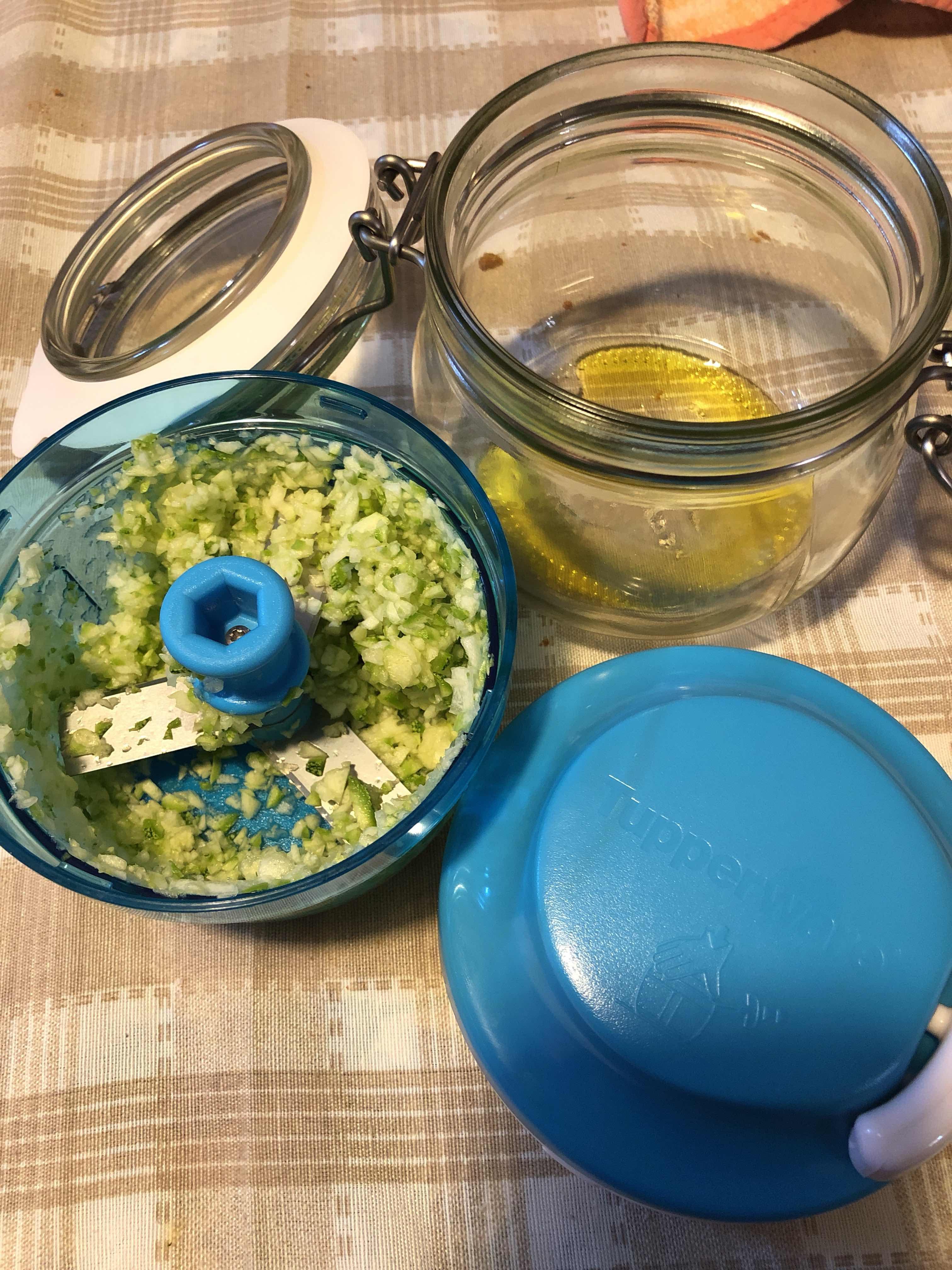 Risotto con Zucchine. thanks to Turbochef