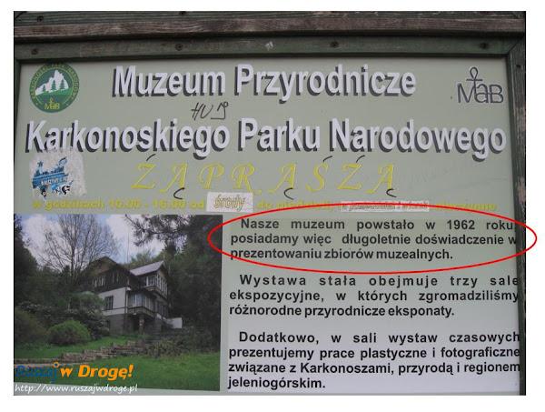 Muzeum Przyrodnicze z długoletnim doświadczeniem