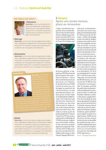 magazine Federec region centre Victoires 06