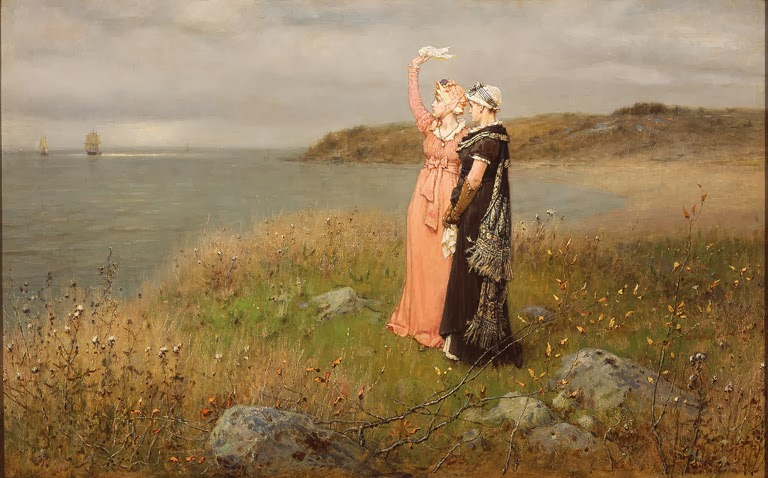 George Henry Boughton - The Two Farewells