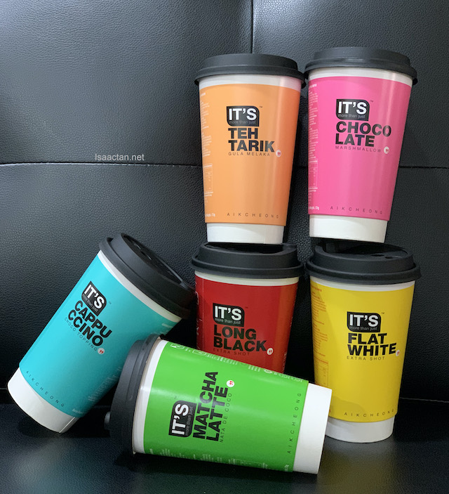 The IT'S product range comes in a variety of different flavours