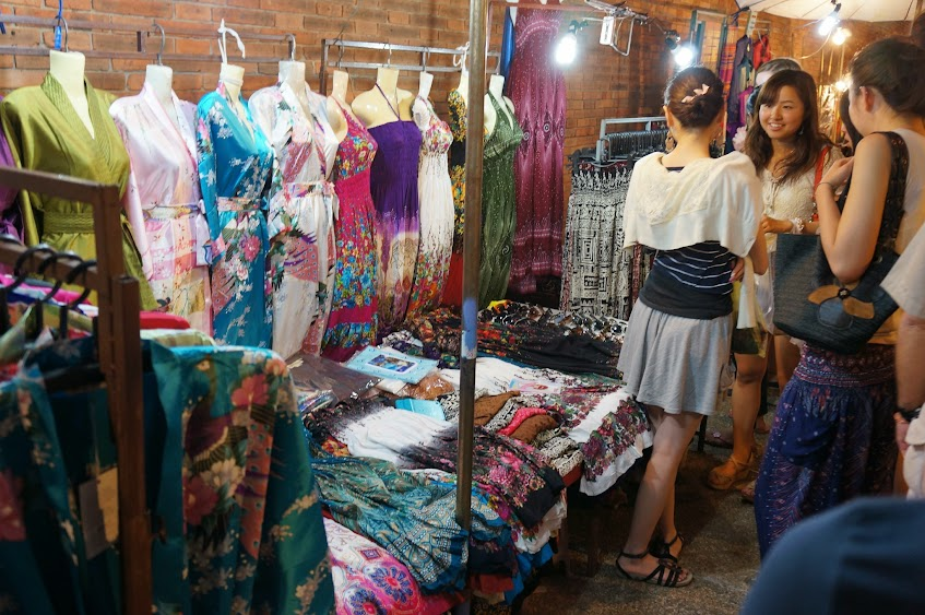 Chiang Mai night market clothes