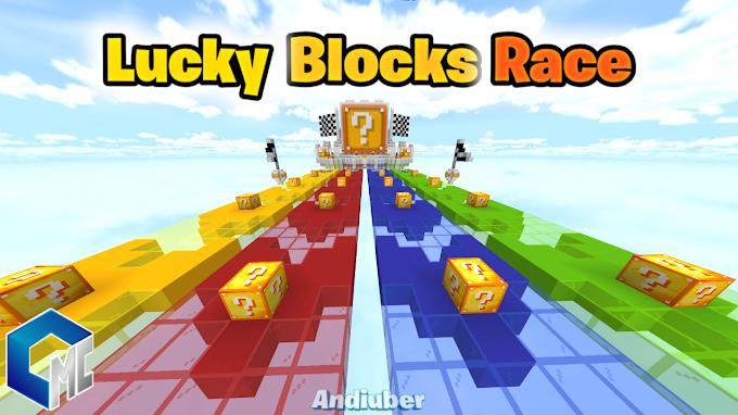 Lucky Blocks Race (Mapa/Minijuego)