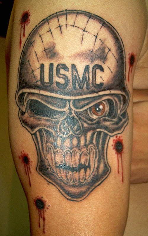 skull-helmet-marine-corps-tattoo