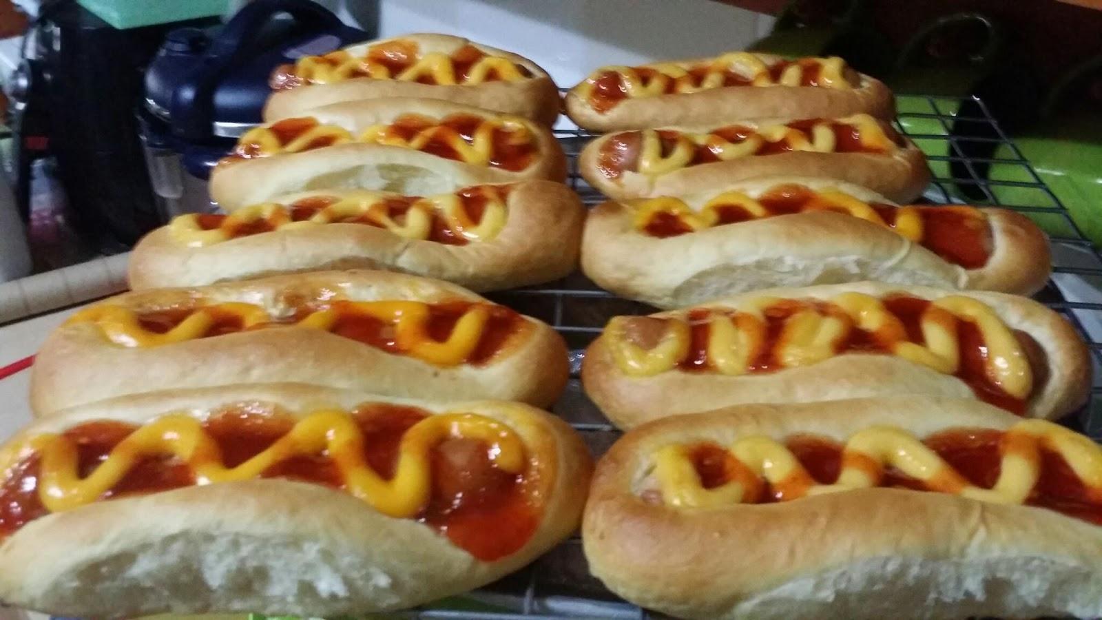 ZULFAZA LOVES COOKING: Roti sosej