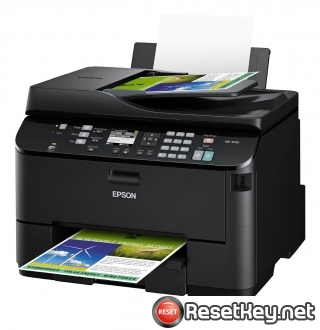 Reset Epson WorkForce WP-4530 printer Waste Ink Pads Counter