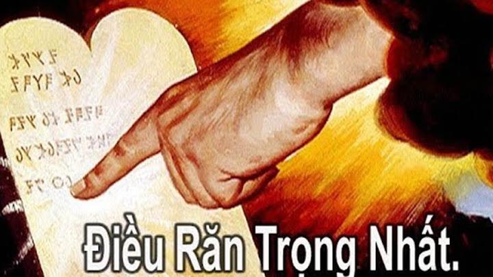 Hai điều răn (04.6.2020 – Thứ Năm Tuần 9 Thường Niên)