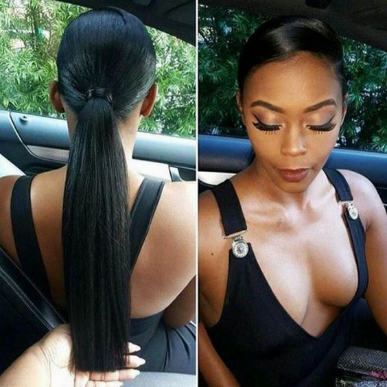 Epochal Black Ponytail Hairstyles -Get ready for 2018 7