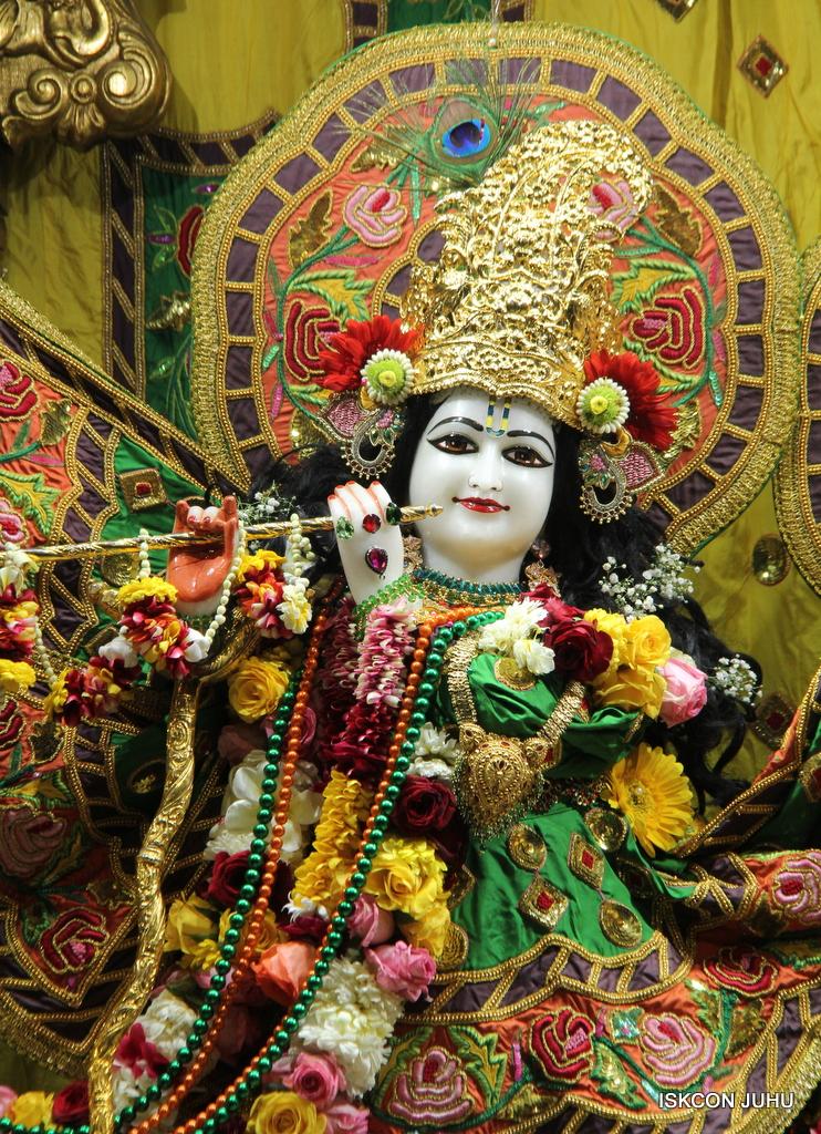 ISKCON Juhu Sringar Deity Darshan on 18th Jan 2017 (7)