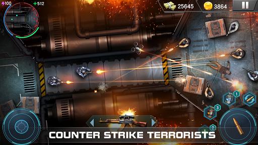 Elite SWAT jogo contra terroristas