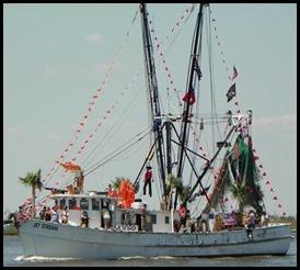 shrimp fest trawler parade