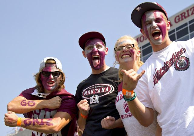 Rabid Grizzly Fans.  Photo by Austin Smith
