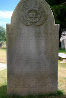 Headstone of Serjeant William Lawrence of the 40th Regiment of Foot